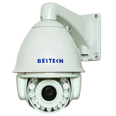 IR OSD Menu Illumination Waterproof IP 66 Middle Speed Dome Camera