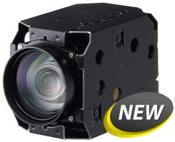 HD Anti-shake Hitachi DI-SC120 Through The Fog Zoom Color Camera