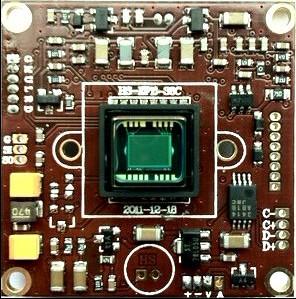 1/3 Sony Effio-E 700TVL Single layer IR sensor OSD Board Camera