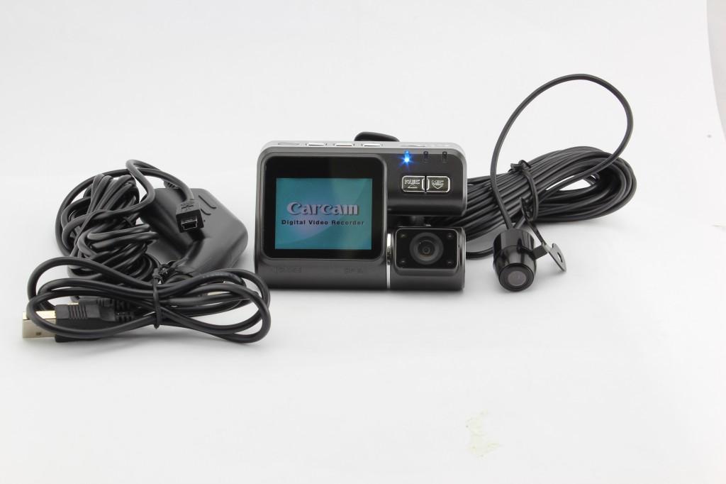 Hight resolution 720P vehicle black box + G-sensor and External camera