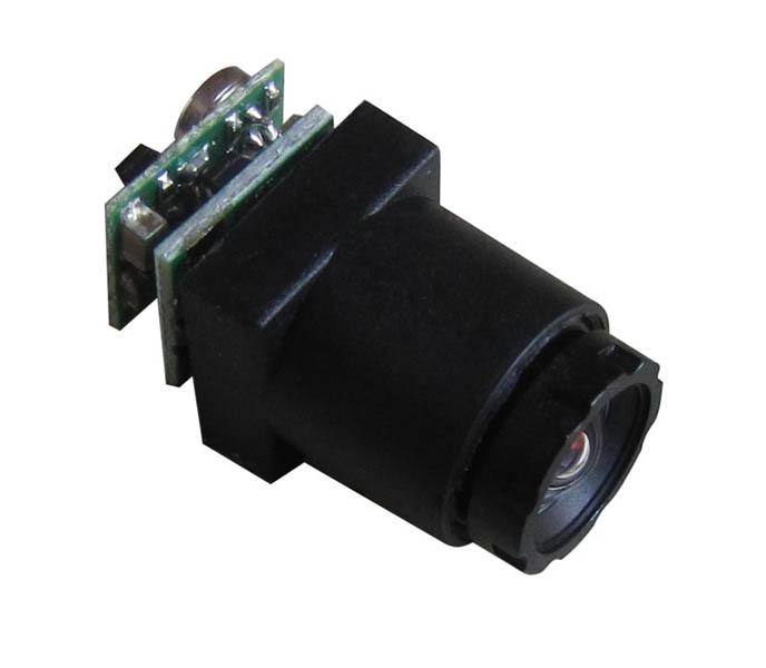 0.008Lux 520TVL Mini CCTV Camera 90degree view angle with audio