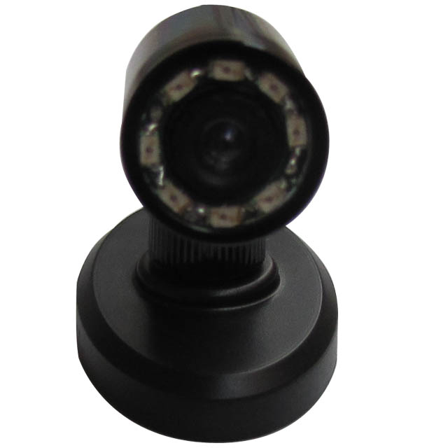 Day/Night 520TVL Mini CCTV Camera with 8 940 IRs 90 deg view angle