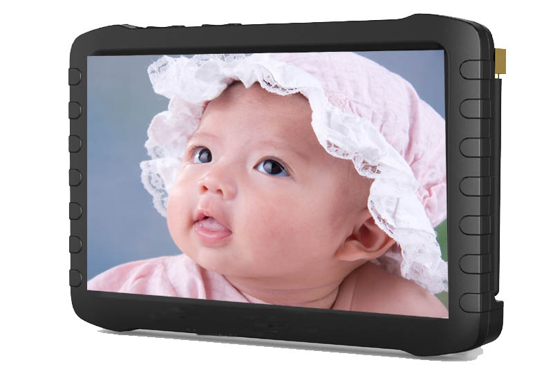 HD 2.4GHz wireless mini DVR 5inch TFT support 32G SD card sales in gocctvshop.com