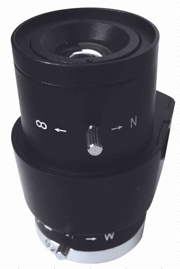 6-15mm Manual Zoom DC Aperture CCTV Lens For Board Camera True F1.4