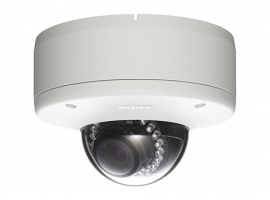 IR 1080P dual-stream network HD dome camera Sony SNC-DH260
