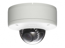 Sony SNC-DH280 CMOS HD 1080P IR and View-DR network mini dome security camera