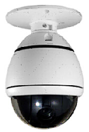 Samsung 1/4 inch Interline Transfer CCD Camera + Indoor Dome Camera