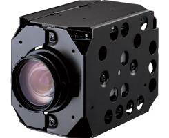 HITACHI VK-S214ER 1/4 22X 460TVL CCD BLC Color Camera