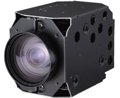 35x 1/4 CCD IR CUT WDR Hitachi VK-S654EN EIS 54OTVL DSP8 Zoom Camera