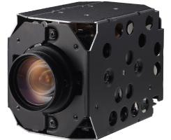 Hitachi VK-S858EN 540TVL 23X 1/4 CCD WDR DSS FNR Color Zoom Camera