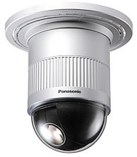 Panasonic WV-CS574 Auto Focus 22x Compact Color Dome Surveillance Camera